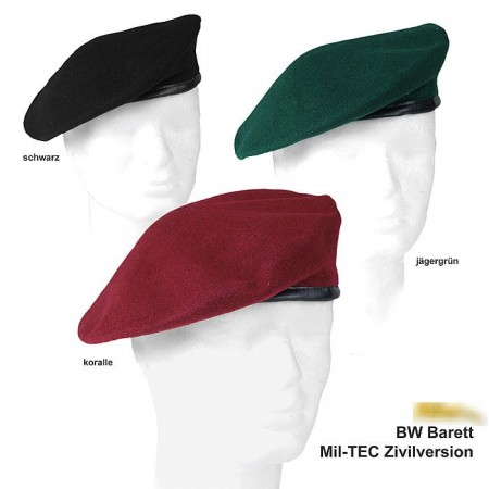Mil-Tec Beret Schwarz